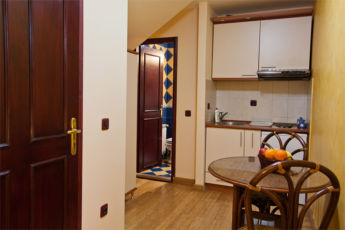 studio apartman kuhinja sa trpezarijom
