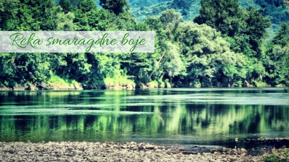 Reka smaragdne boje - Drina